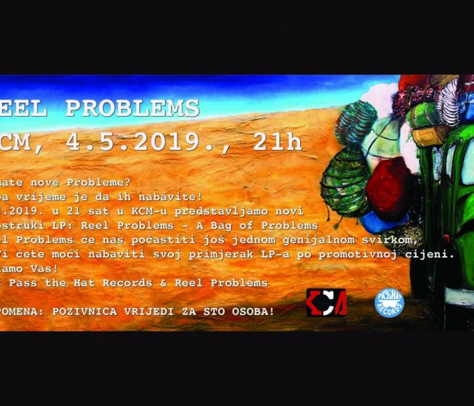 "Reel Problems promoviraju dvostruki LP ""A Bag of Problems"""